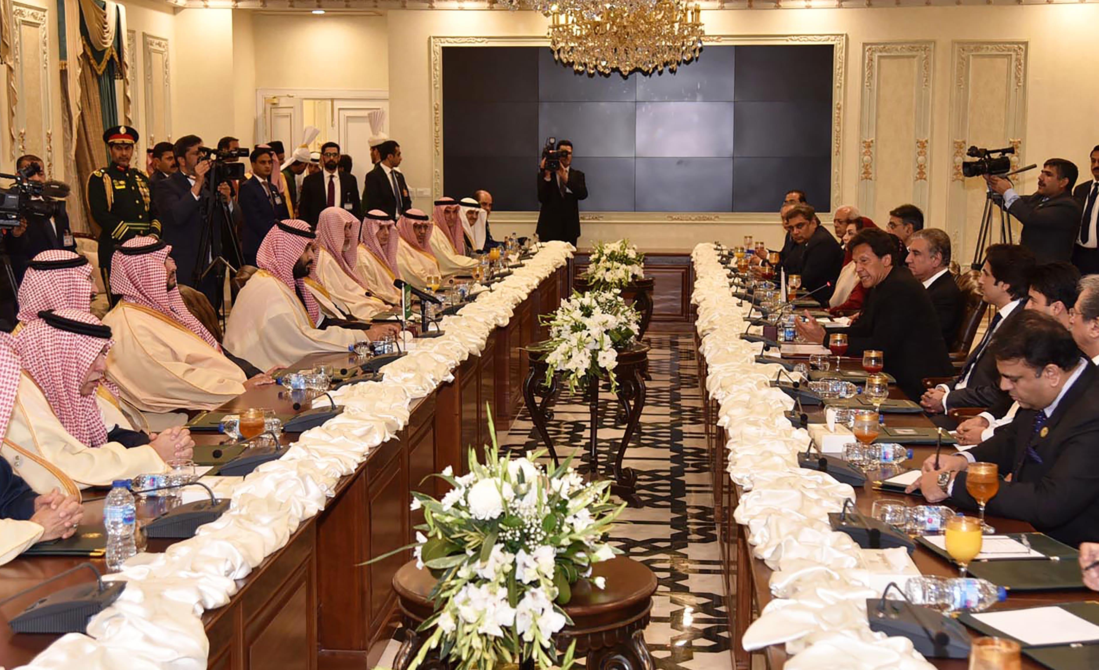Pakistan-Saudi Agenda